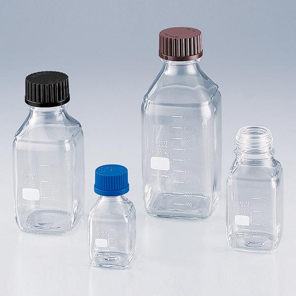 白色方形旋口瓶(DURANR)
