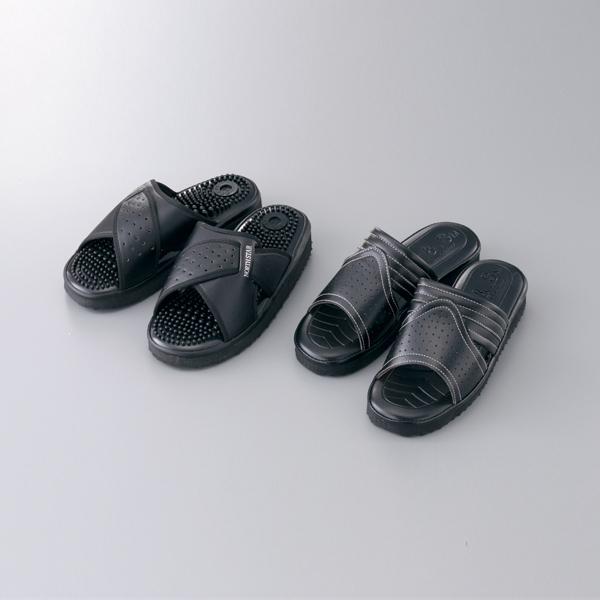 研究人员用凉鞋