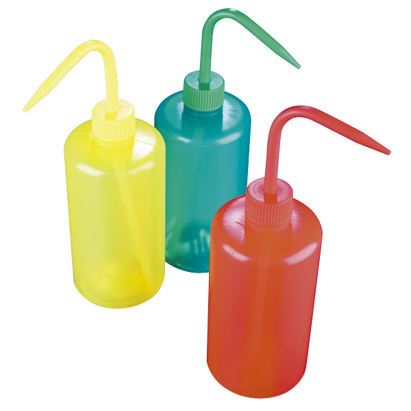 彩色清洗瓶