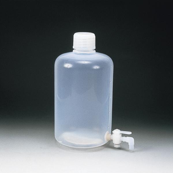 PFA窄口瓶 (带龙头)
