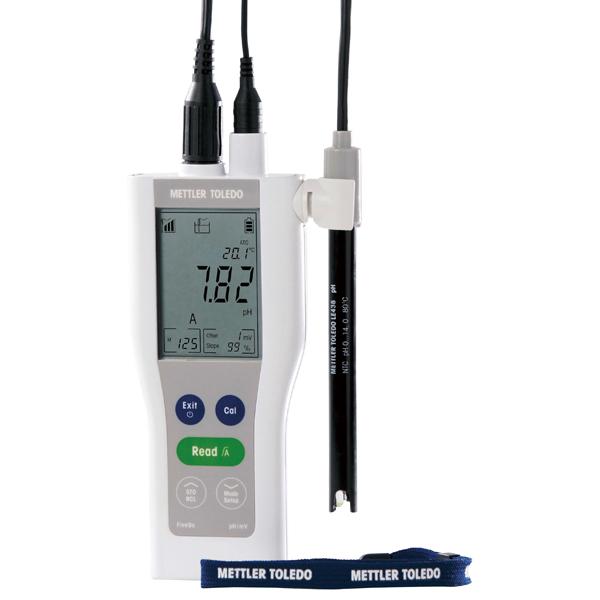 便携式防尘防水pH计