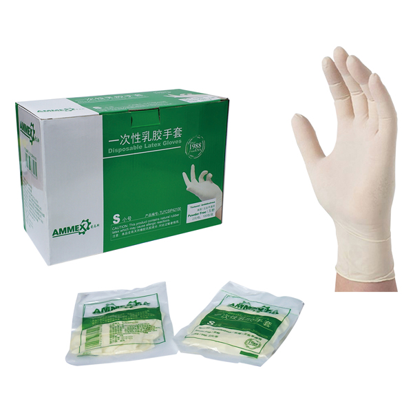 一次性灭菌乳胶手套