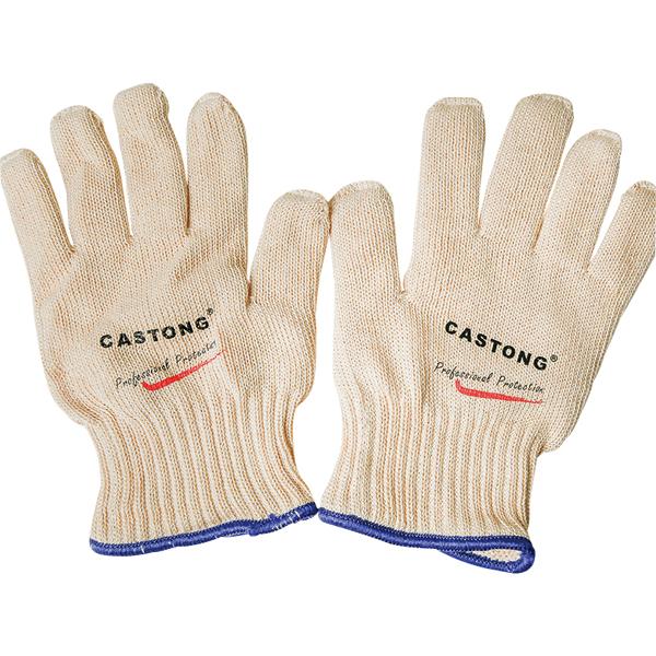 弹性针织耐高温手套(5指单面)