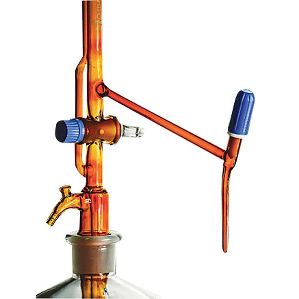 自动滴定管(棕色带PTFE活栓・回流活栓)