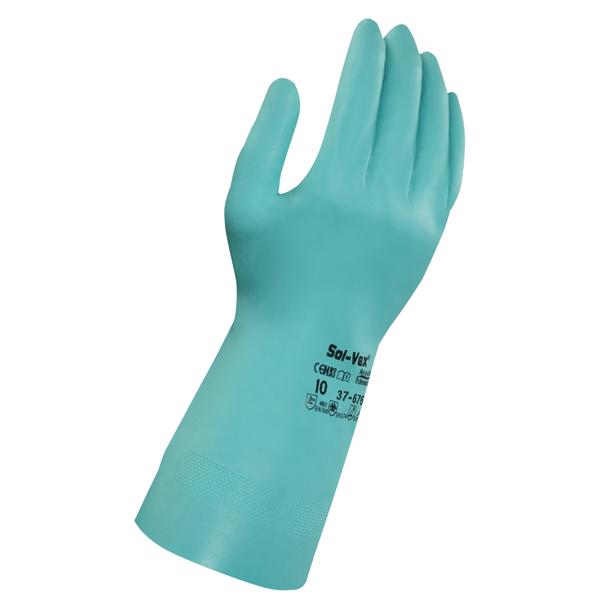 丁腈防化学手套