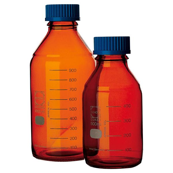 螺口试剂瓶(茶色)(DURANR・017210)