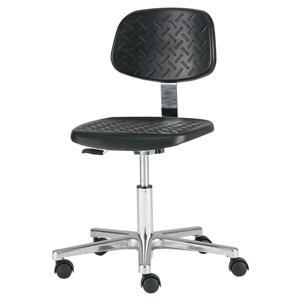 工作椅(一体成型座板)