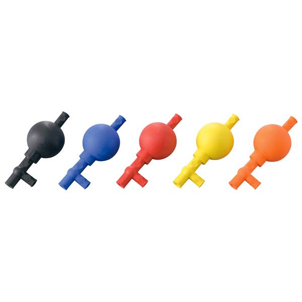 彩色定量吸球