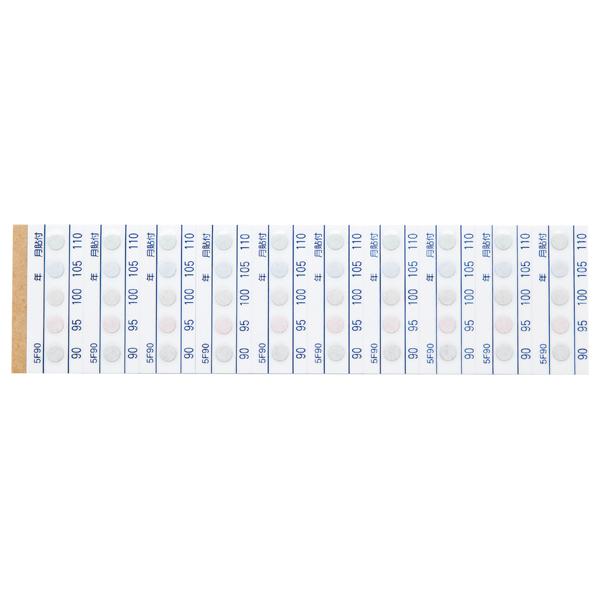 测温纸(不可逆・5种温度显示)