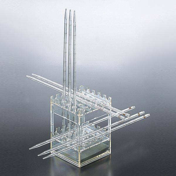双层方形移液管架