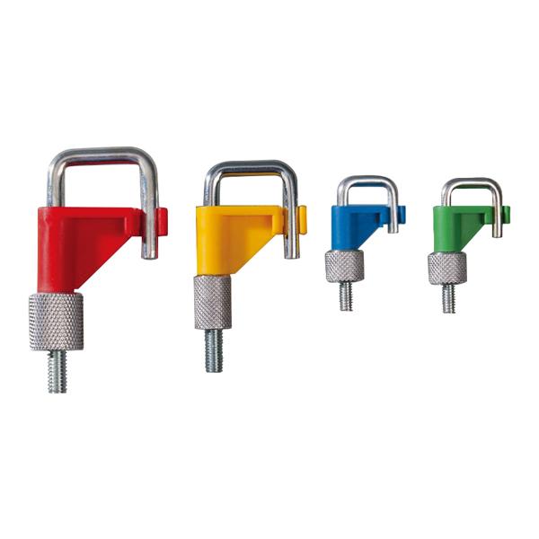彩色F型止水夹