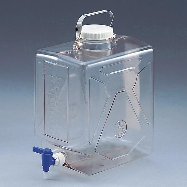 带龙头透明方形瓶