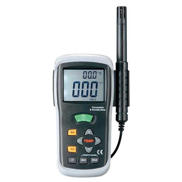 经济型数字式温湿度计(高温测定可)
