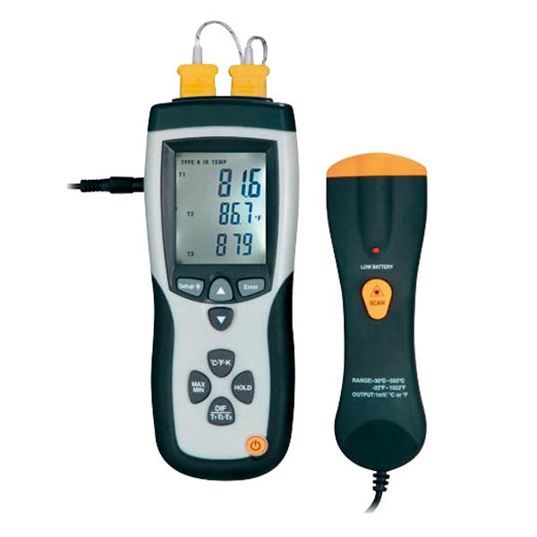 高性能数字温度计(4通道/带放射测试功能)
