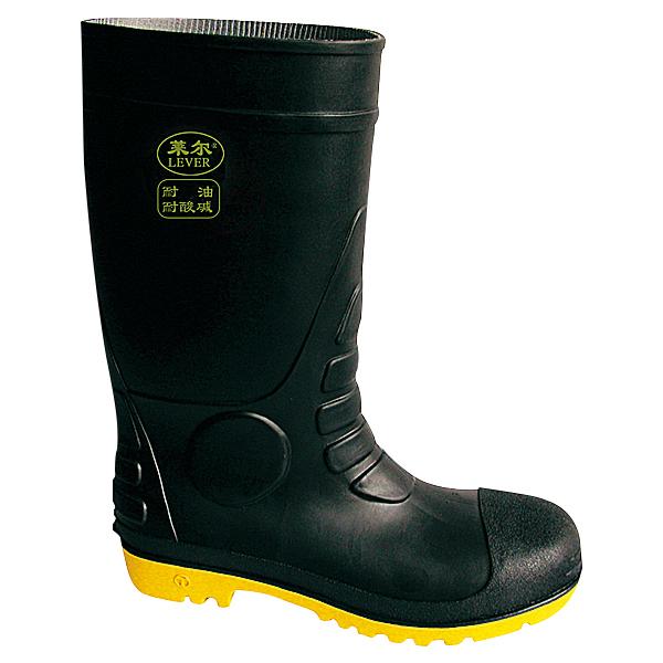 高筒PVC防化安全靴