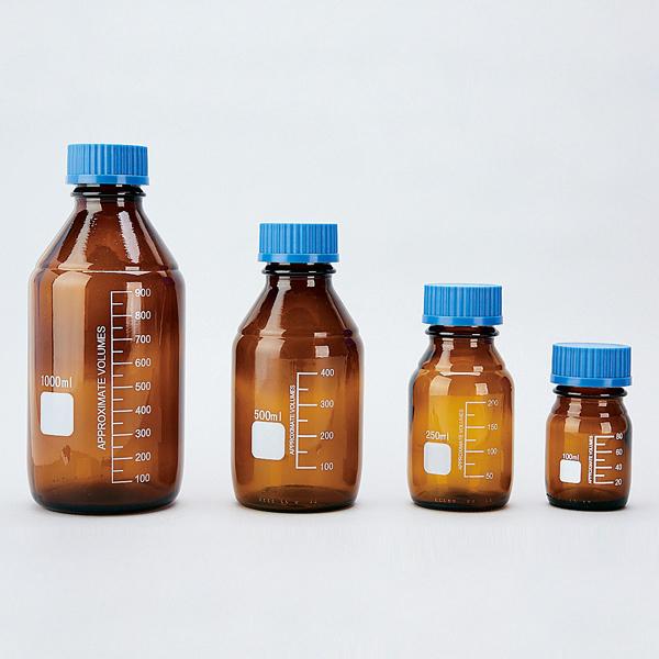经济型螺口试剂瓶(棕色)