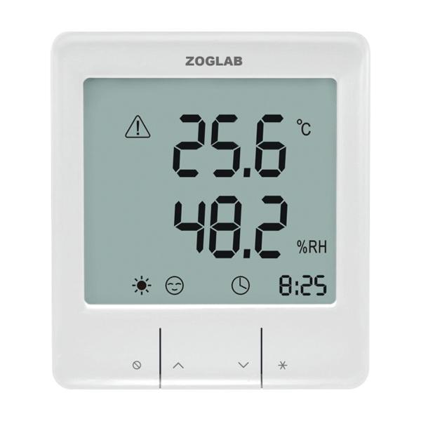 大屏幕智能温湿度计